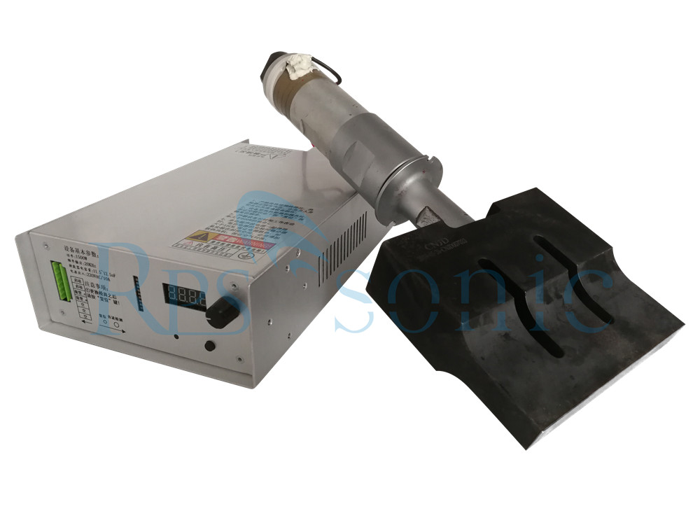 Contienue Works Ultrasonic Welding Power Supply para Nonwovens